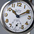 Thumbnail FS: 1920's Dunklings Trench Watch with White Porcelain Dial 5