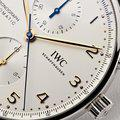Thumbnail fsot - IWC Portuguese Chronograph - NEW In-House Movement - IW371604 ( new / 2020 ) 5