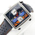 Thumbnail fsot - Tag Heuer Monaco - Gulf Special Edition - CAW211R.FC6401 ( new / 2020 ) 5