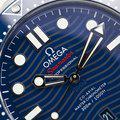 Thumbnail fsot - Omega Seamaster 300 - Blue - Wave Dial - 42mm - Master 8800 ( new / 2020 ) 7