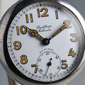 Thumbnail FS: 1920's Dunklings Trench Watch with White Porcelain Dial 4