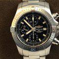Thumbnail FS: LNIB Breitling A13385 Avenger  II Chonograph 43, Steel, Bracelet, Black Dial, Complete. 3