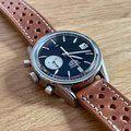 Thumbnail FS: Hodinkee / Heuer Carrera Dato Limited Edition of 250 - Full Kit w/ racing strap and vintage Heuer buckle 4