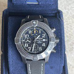 """FS: Breitling Avenger Chronograph 45 """"Night Mission"""" V13317101B1X2 Like New! Priced to sell!"""