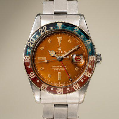 FS: 1957 Rolex GMT-Master Tropical 6542 with Bakelite Bezel