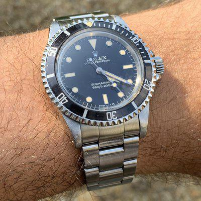FS: Rolex Submariner 5513 Flawless Dial With Amazing Matching Patina.