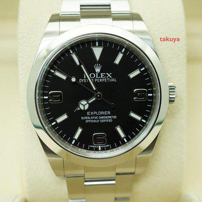 FSOT:Rolex 214270 EXPLORER I MARK 1 DIAL 39MM BOXES PAPERS