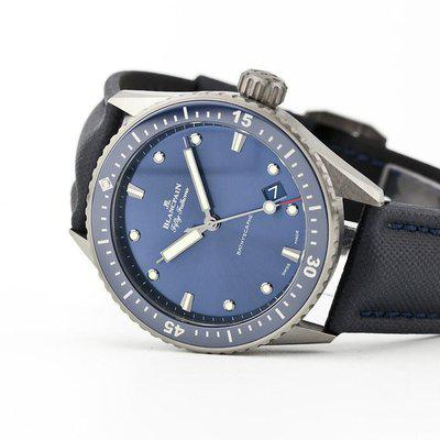 fsot - Blancpain Fifty Fathoms - Bathyscaphe - Blue Dial - Ceramic ( new / 2021 )
