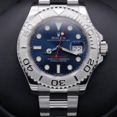 FSOT: Rolex Yacht Master - 116622 - Blue Dial - Stainless - 40mm - Mint