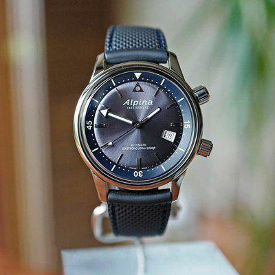 FS ALPINA SEASTRONG DIVER HERITAGE AUTOMATIC GREY DIAL 42MM