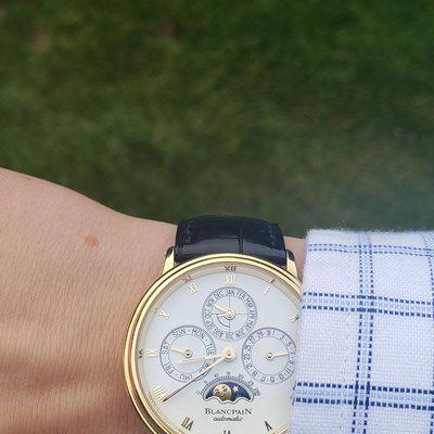 [WTS]Blancpain perpetual calendar with leap year indicator