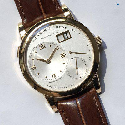 FS: Lange One ref 101.032 38.5mm Rose Gold 99% mint LIKE NEW Watch only with A Lange Leather Service Box and Proof of Origin document