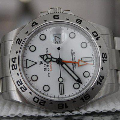 FS: 2020 Rolex Explorer II 216570 Polar / White GMT 42mm W/ BOXES / PAPERS COMPLETE!