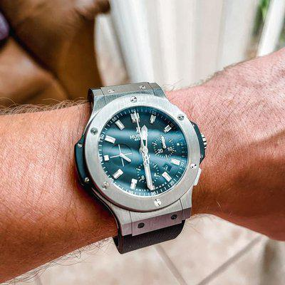 FS: Hublot Big Bang 44 Chronograph Stainless Steel With Box & Papers Complete