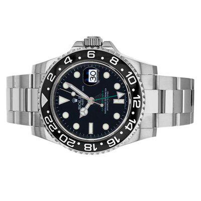 Rolex 116710 GMT Master II Black Dial Box and Papers