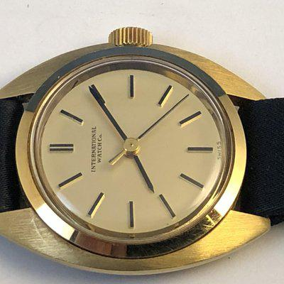 FSOT: Excellent Rare Ladies 1970's Vintage IWC 18 Kt Yellow Gold. Newest and Last Price Reduction