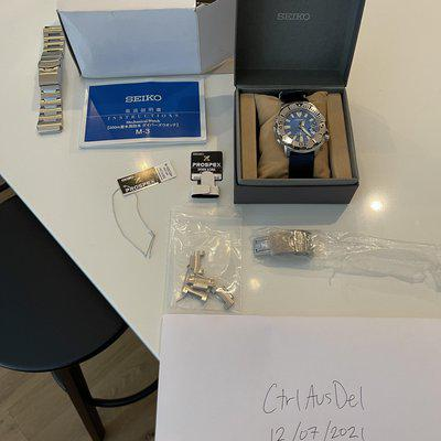 [WTS] Seiko SBDC067 (Monster Blue Coral Reef)