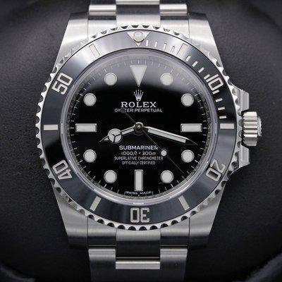 FSOT: Rolex Submariner No Date - 114060 - Stainless - 40mm - Mint 2020