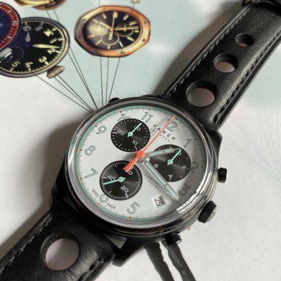 SOLD - FS: FARER FAIRFORD Panda Chronograph - B&P one owner ***REDUCED