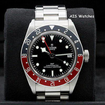 FSOT: Tudor 79830RB Black Bay GMT Pepsi Stainless Steel Bracelet Box & Papers