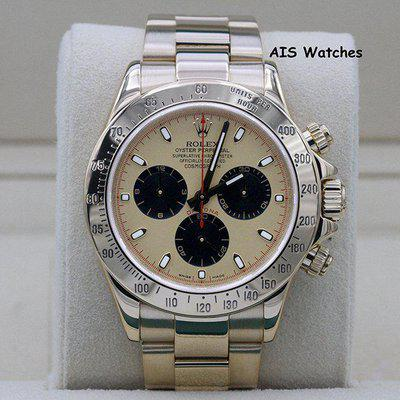 FSOT - Rolex Daytona 116528 Yellow Gold Champagne Dial Paul Newman Z Serial Box&Papers
