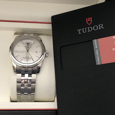 FS: TUDOR NIB GLAMOUR DAY DATE 56000 39MM