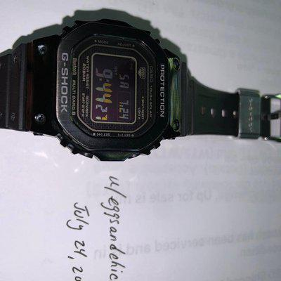 [WTS] Casio G Shock GMW-B5000 with original metal and resin bands