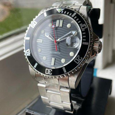 [WTS] A Modded Invicta Diver as a Seamaster Homage, Seiko Automatic Movement Running Very Accurately, Custom Finishing, Dial and Hands, New Bracelet, Full Kit, Just $119 Shipped!
