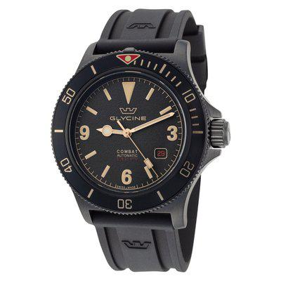 SOLD !!!!GLYCINE SUB 42 GL0269 AUTO DATE SWISS PVD WITH BOXES – IMMACULATE AND UNWORN - LOWER PRICE