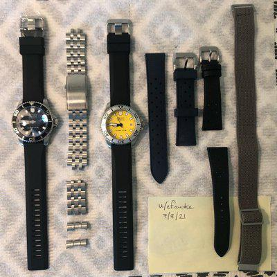 FSO: Scurfa Watches, Bracelet, and Straps