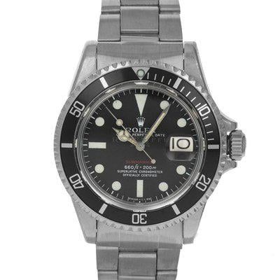 FS- Rolex 1680 Submariner MK V Red Sub Black Dial Box Papers