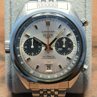 SOLD: 1969 Vintage Heuer Carrera 1153 s Caliber 11 First Execution