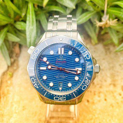 FS: Omega Seamaster 300m Diver Co-Axial Master Chronometer Blue 2020 21.03.04.22.003.001