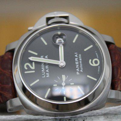 FS: Panerai Luminor Marina Acciaio PAM 48 40mm Watch with Boxes + Papers WOW LOOK!!!