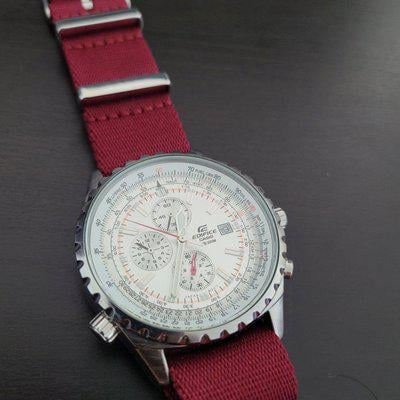 [WTS] Casio Edifice EF-527D Slide Rule Chronograph with Strap and Bracelet