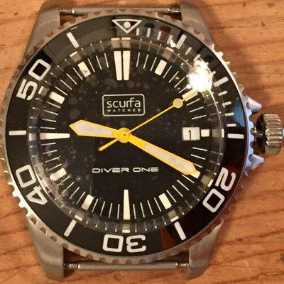 First Issue Scurfa Diver One Stainless Steel