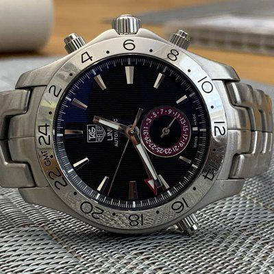 FSOT TAG Heuer Link GMT Reference WWJF2115 $750 Paypal Accepted + Fees