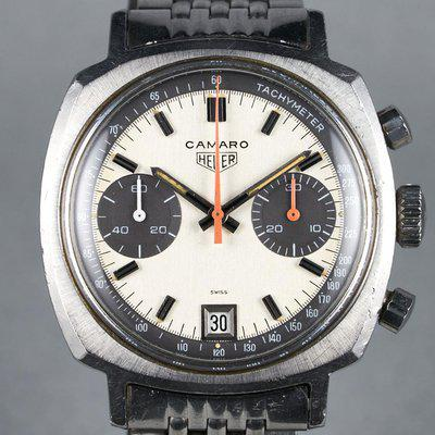 """FS: 1969 Heuer Camaro Ref: 73443 1st Execution """"Exotic Dial"""""""