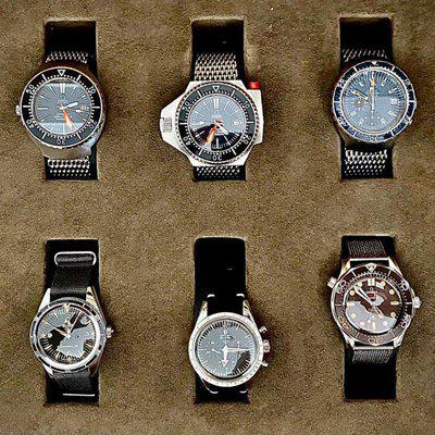 FS - Collection of 10 Omegas (Trilogy box, 007 NTTD & 6 vintage)
