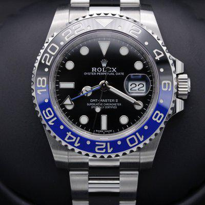 FSOT: Rolex GMT Master II - 116710BLNR - Stainless - Oyster - 40mm - Mint