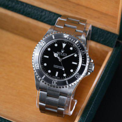 [WTS] Rolex Submariner 14060m No Date 2 Liner - K Serial 2001