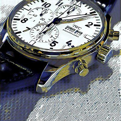 """FS: IWC PILOT'S WATCH CHRONOGRAPH EDITION """"150 YEARS"""" IW377725 - Like New Condition"""