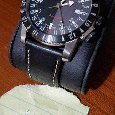 [WTS][REDUCED] MAKE OFFER, Glycine Airman Base 22 Purist 24hr two color dial