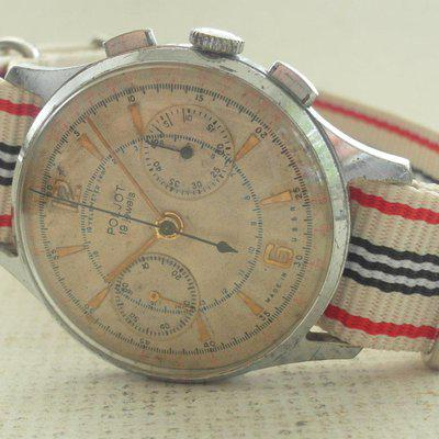 FS - STRELA Russia`s MOONWATCH COSMONAUTE Chronograph Unmolested Original Serviced !