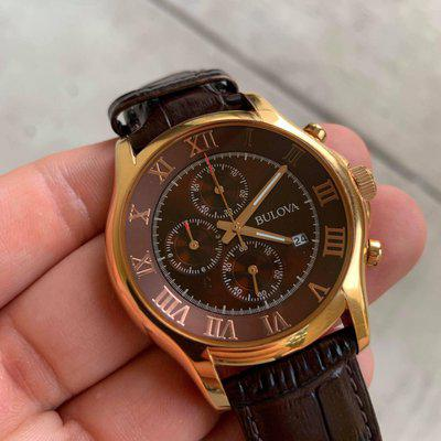 [WTS] Bulova Men's Chocolate/Rose Gold Chronograph (Further Reduced) $210