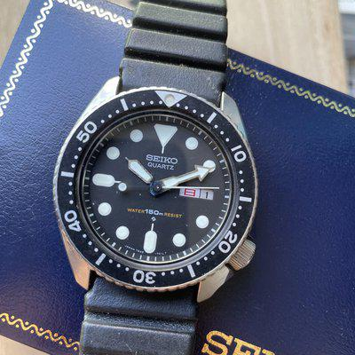 Seiko 7548-7000 JDM 150m Diver, Box and Instruction booklet $375 USD