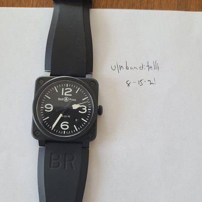 [WTS] Bell & Ross BR 03-92 Black Ceramic Re-reposted and Re-reeduced