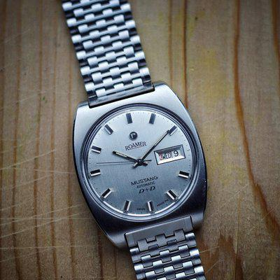 [WTS] Roamer Mustang Automatic Day-Date ref. 478-1120-601 cal. ST678 with May 2020 service
