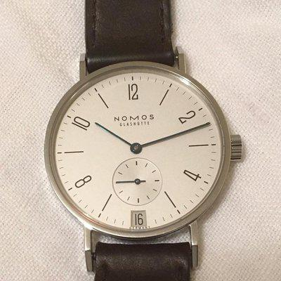 FS: NOMOS Tangente Date (ref. 107) with extra strap -- Reduced Price