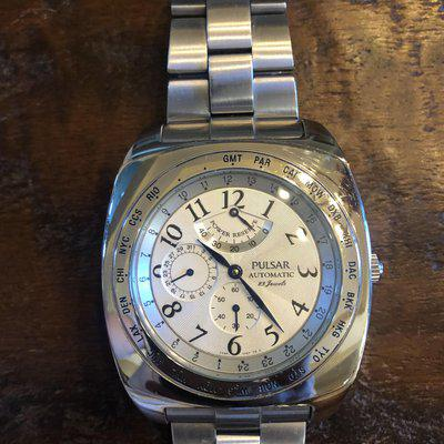 """[WTS] [Reduced] 1993 Pulsar Automatic """"World Timer"""""""